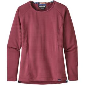 Patagonia R1 Langærmet T-shirt Damer, star pink